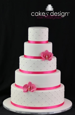 Cake Design Formation Toulouse : Wedding cake, Gateaux de mariage, Piece montee - Toulouse