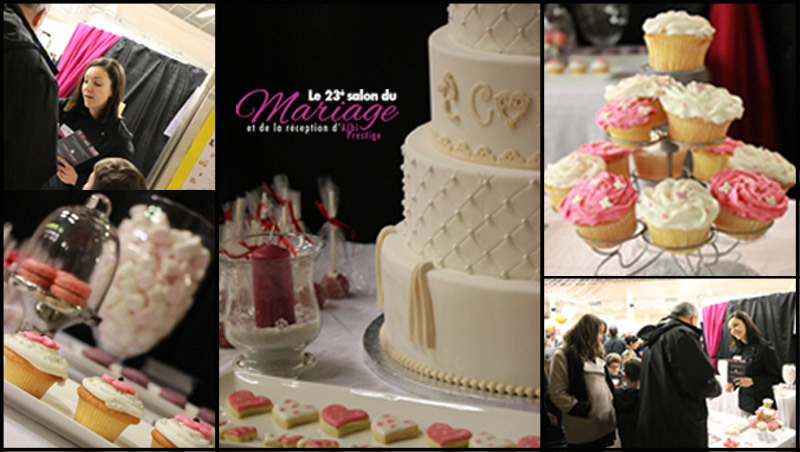 Salon du mariage d 39 albi cakes design for Salon de the albi