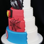 marvel et wedding cake